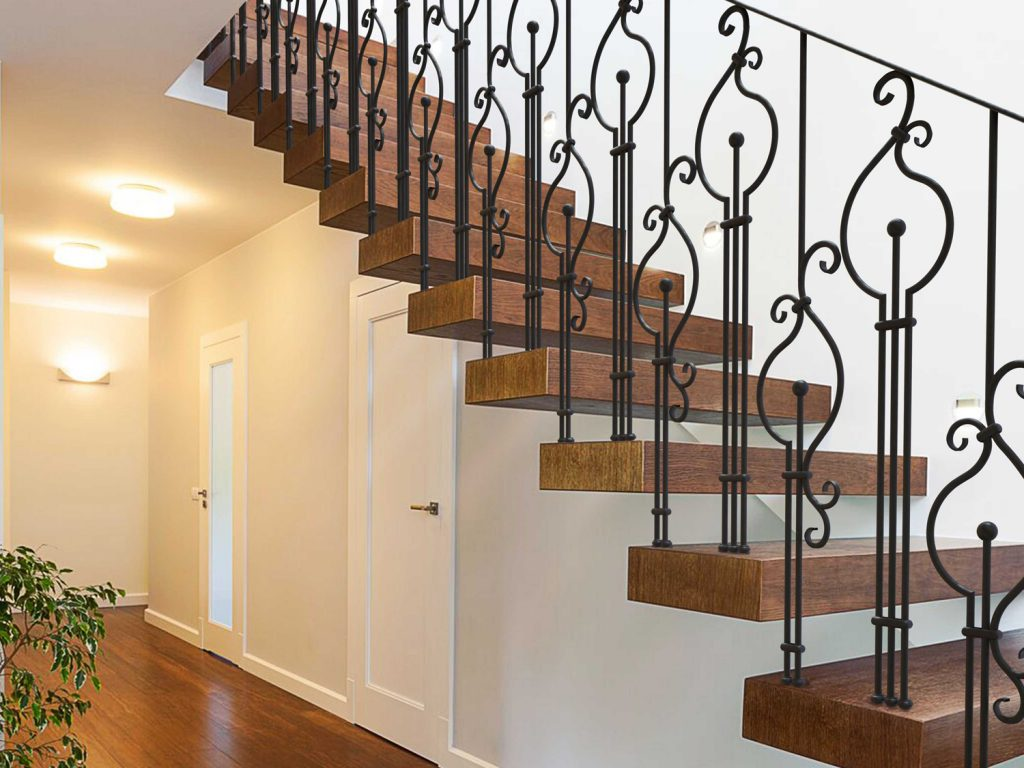 Classic wrought iron balusters indital usa