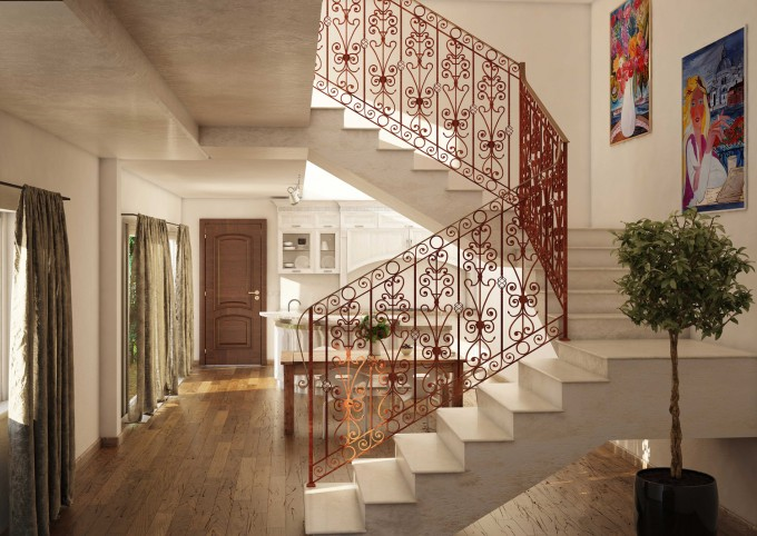 Wrought Iron Balusters And Panels